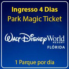 Walt Disney World 4 Park Magic