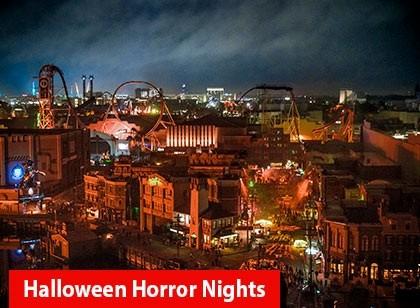 Universal Orlando Halloween Horror Nights – Flex Ticket – Para Duas Noites de Domingo à Sexta